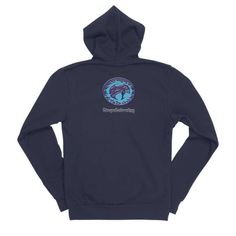 ChupaCabrales Logo (Aztech) Women's Sponge Fleece Zip-Up Hoody by ChupaCabrales's Shop