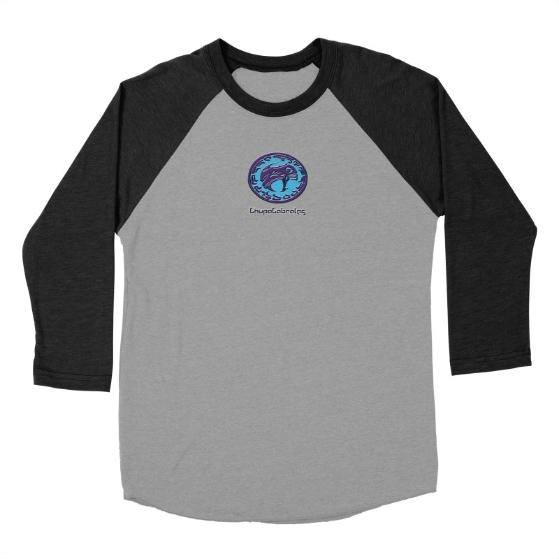 ChupaCabrales Logo (Aztech) Men's Baseball Triblend Longsleeve T-Shirt by ChupaCabrales's Shop