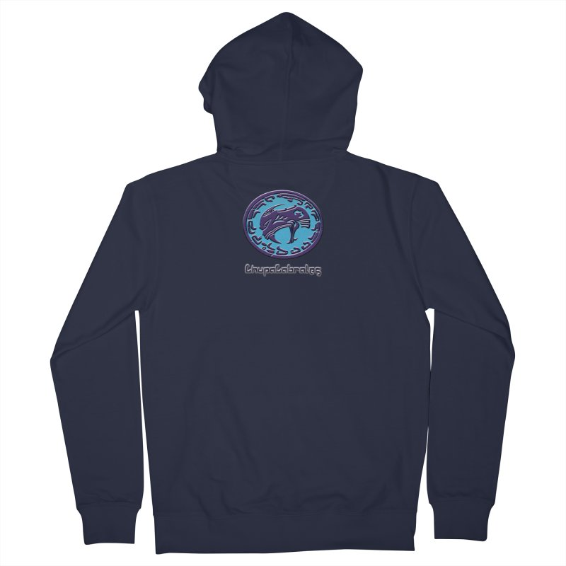 ChupaCabrales Logo (Aztech) Men's French Terry Zip-Up Hoody by ChupaCabrales's Shop