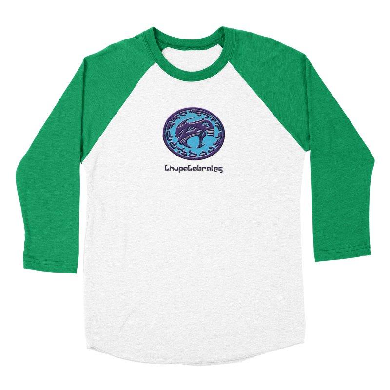 ChupaCabrales Logo (Aztech) Men's Baseball Triblend Longsleeve T-Shirt by ChupaCabrales's Shop