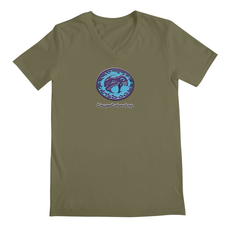 ChupaCabrales Logo (Aztech) Men's Regular V-Neck by ChupaCabrales's Shop