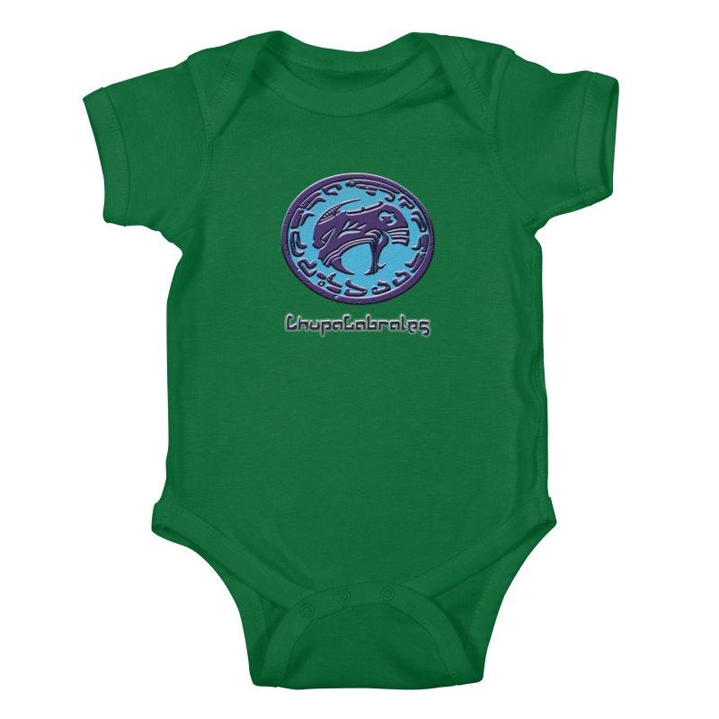 ChupaCabrales Logo (Aztech) Kids Baby Bodysuit by ChupaCabrales's Shop