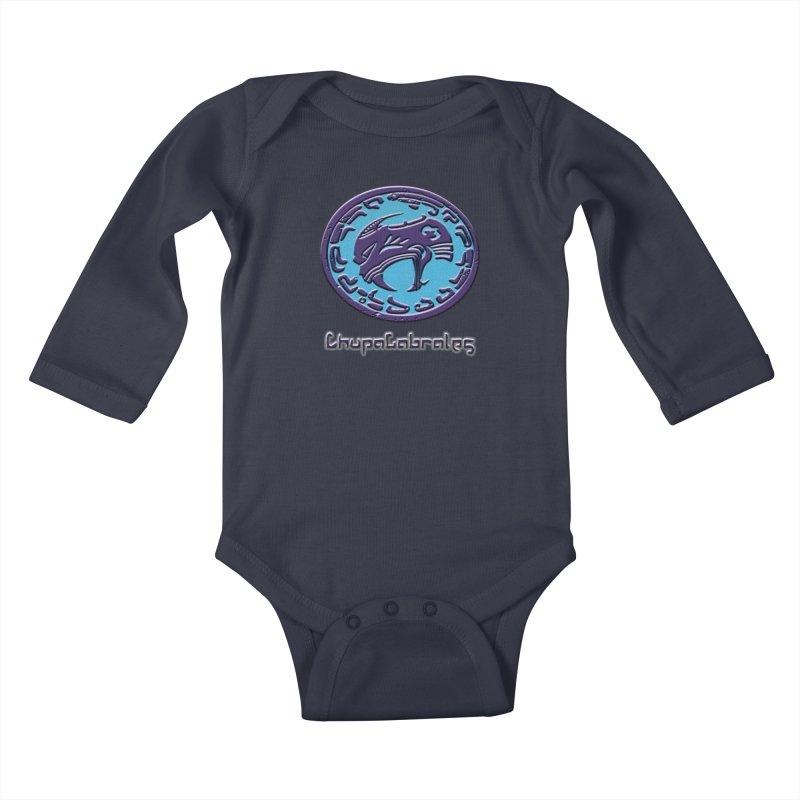 ChupaCabrales Logo (Aztech) Kids Baby Longsleeve Bodysuit by ChupaCabrales's Shop