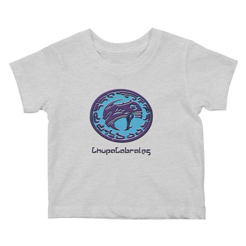 ChupaCabrales Logo (Aztech) Kids Baby T-Shirt by ChupaCabrales's Shop