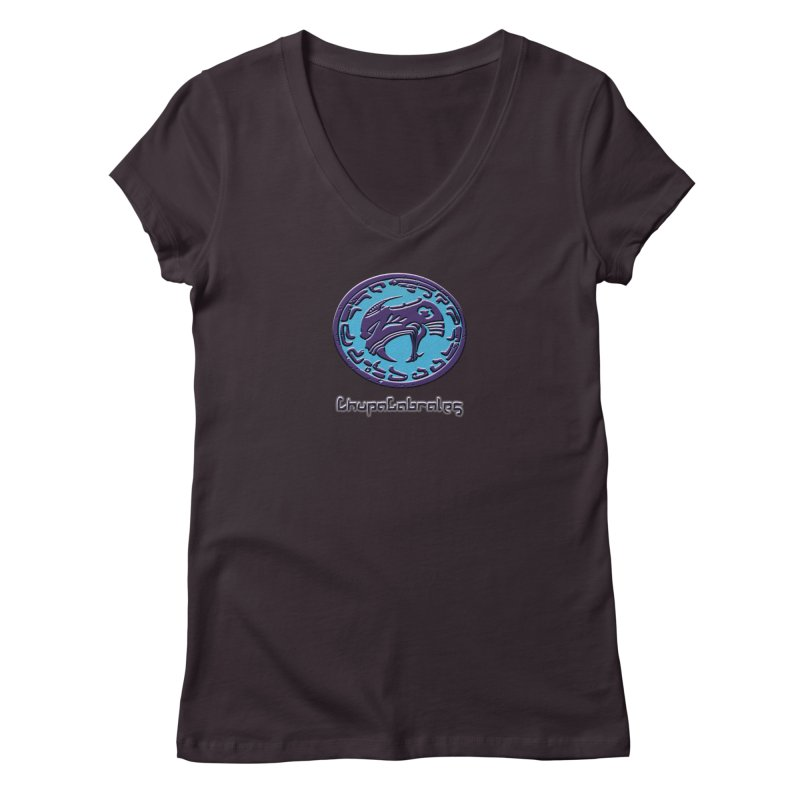 ChupaCabrales Logo (Aztech) Women's Regular V-Neck by ChupaCabrales's Shop