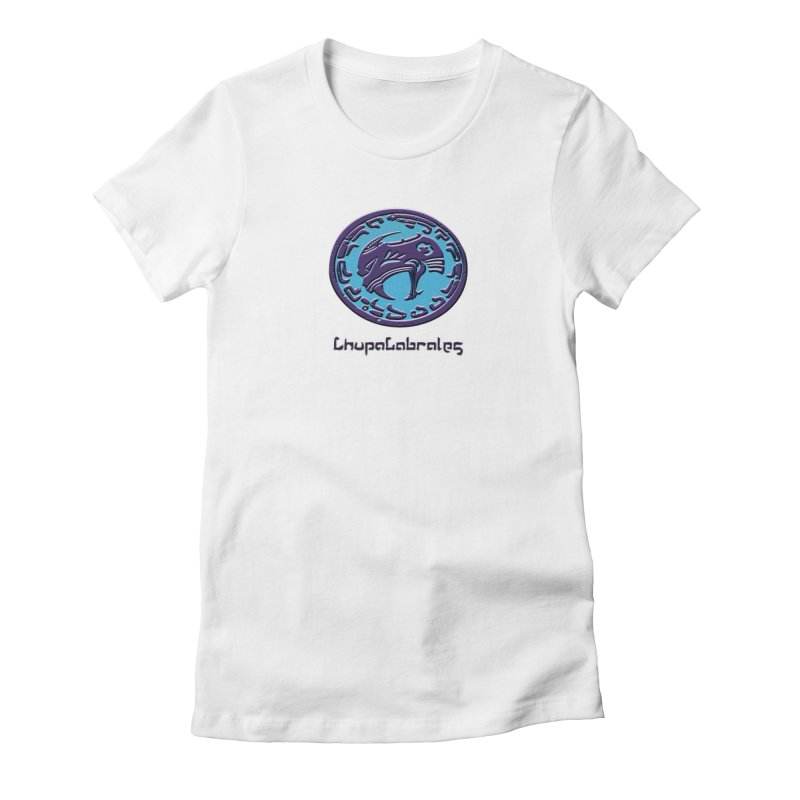 ChupaCabrales Logo (Aztech) Women's Fitted T-Shirt by ChupaCabrales's Shop