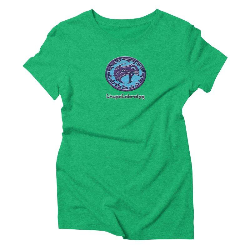 ChupaCabrales Logo (Aztech) Women's Triblend T-Shirt by ChupaCabrales's Shop