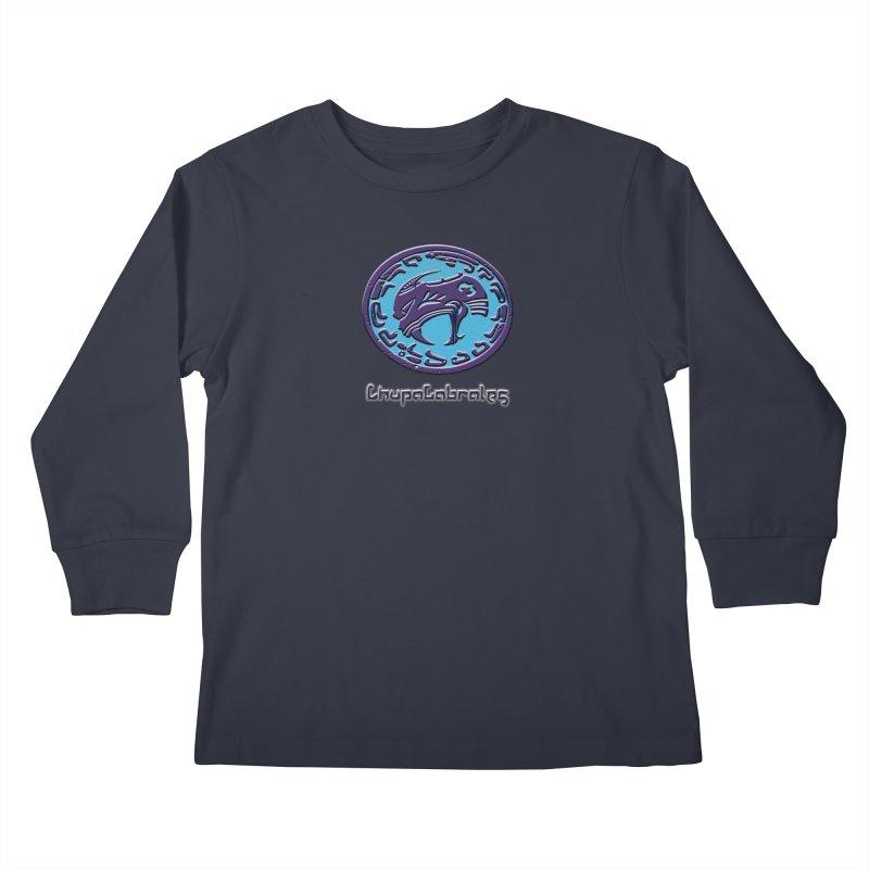 ChupaCabrales Logo (Aztech) Kids Longsleeve T-Shirt by ChupaCabrales's Shop