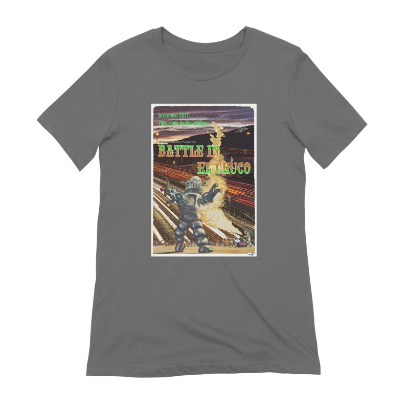 Battle in El Chuco by ChupaCabrales Women's Extra Soft T-Shirt by ChupaCabrales's Shop
