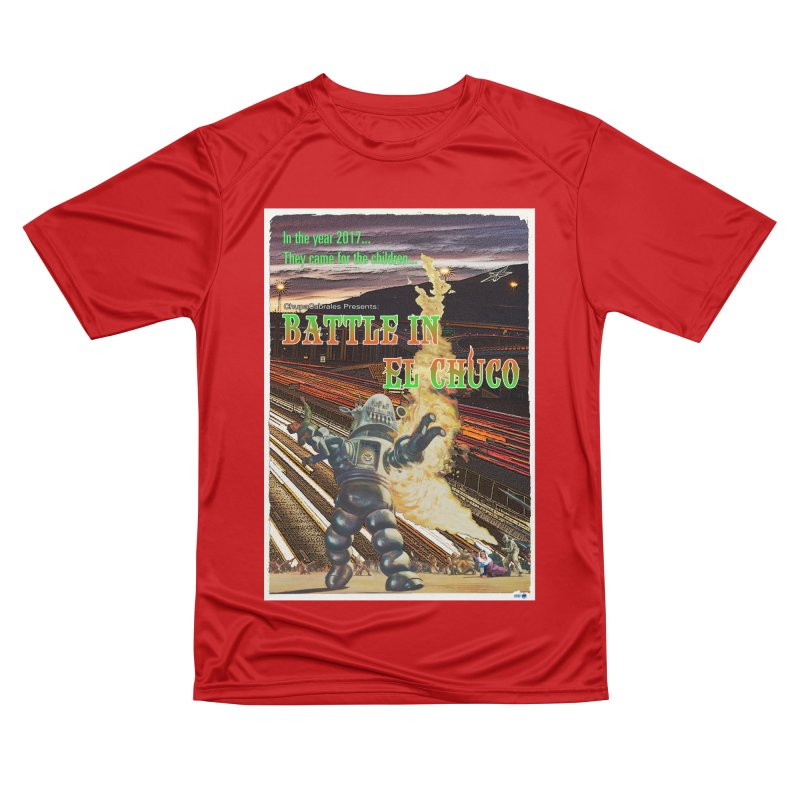 Battle in El Chuco by ChupaCabrales Women's Performance Unisex T-Shirt by ChupaCabrales's Shop