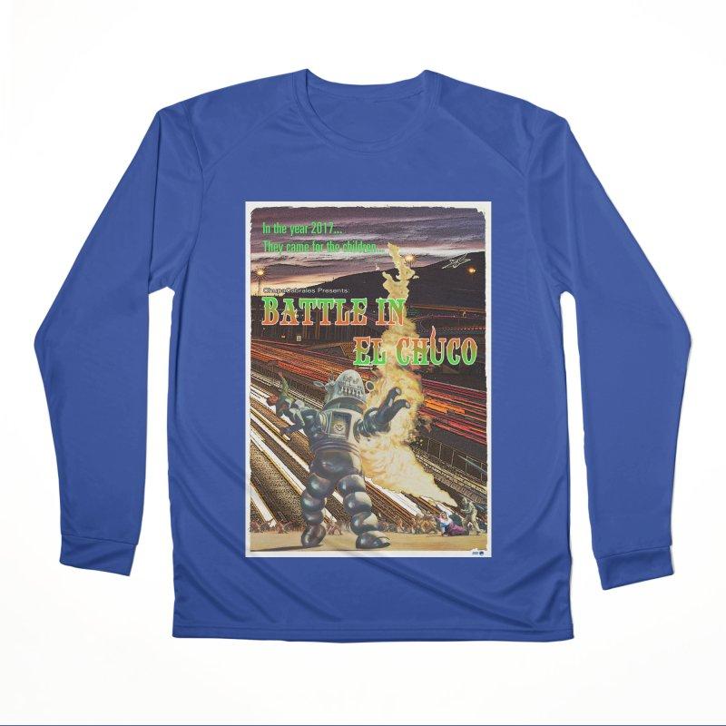 Battle in El Chuco by ChupaCabrales Men's Performance Longsleeve T-Shirt by ChupaCabrales's Shop
