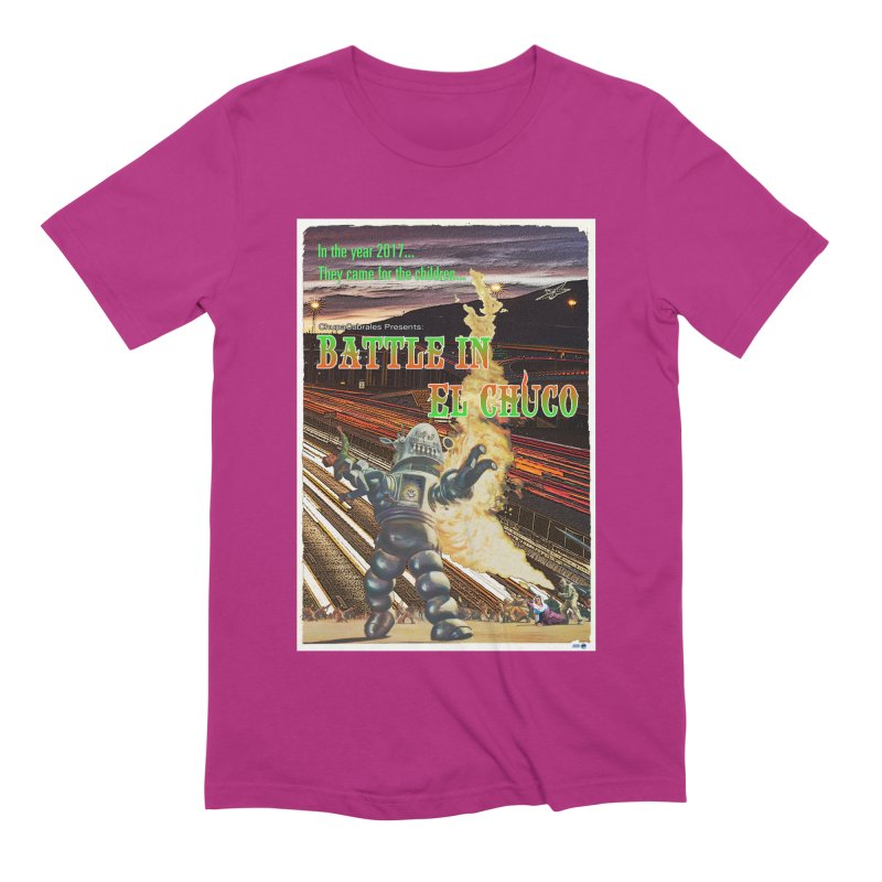 Battle in El Chuco by ChupaCabrales Men's Extra Soft T-Shirt by ChupaCabrales's Shop