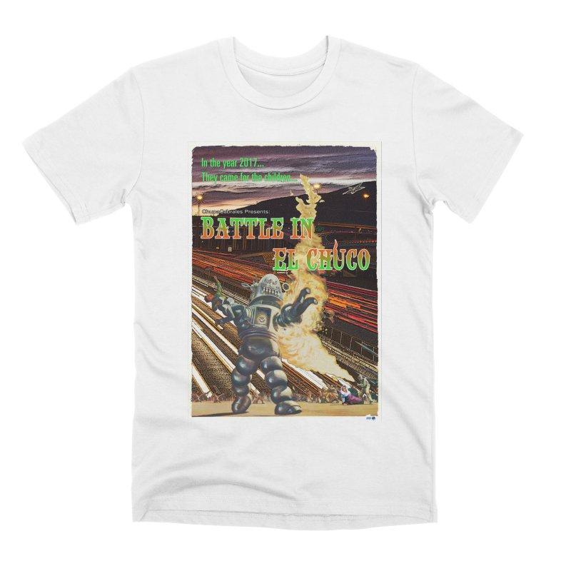Battle in El Chuco by ChupaCabrales Men's Premium T-Shirt by ChupaCabrales's Shop