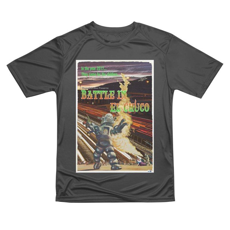 Battle in El Chuco by ChupaCabrales Men's Performance T-Shirt by ChupaCabrales's Shop