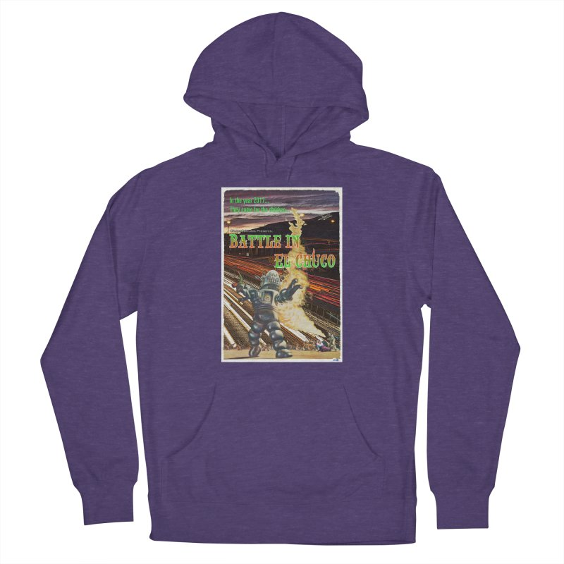 Battle in El Chuco by ChupaCabrales Women's French Terry Pullover Hoody by ChupaCabrales's Shop