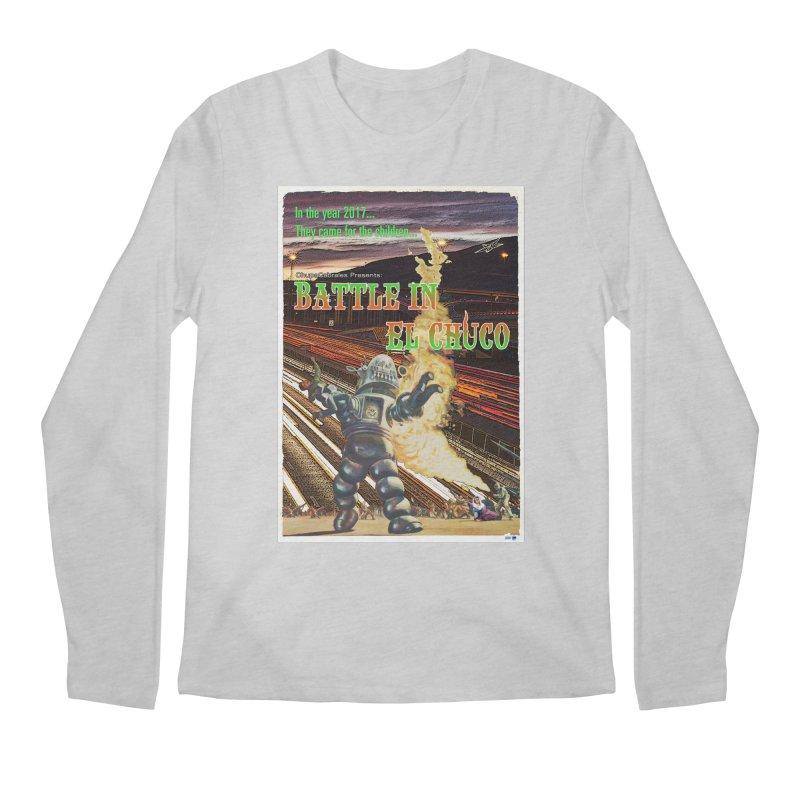 Battle in El Chuco by ChupaCabrales Men's Regular Longsleeve T-Shirt by ChupaCabrales's Shop