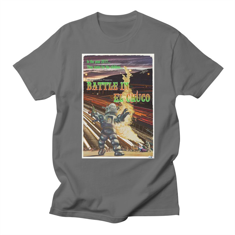 Battle in El Chuco by ChupaCabrales Men's T-Shirt by ChupaCabrales's Shop
