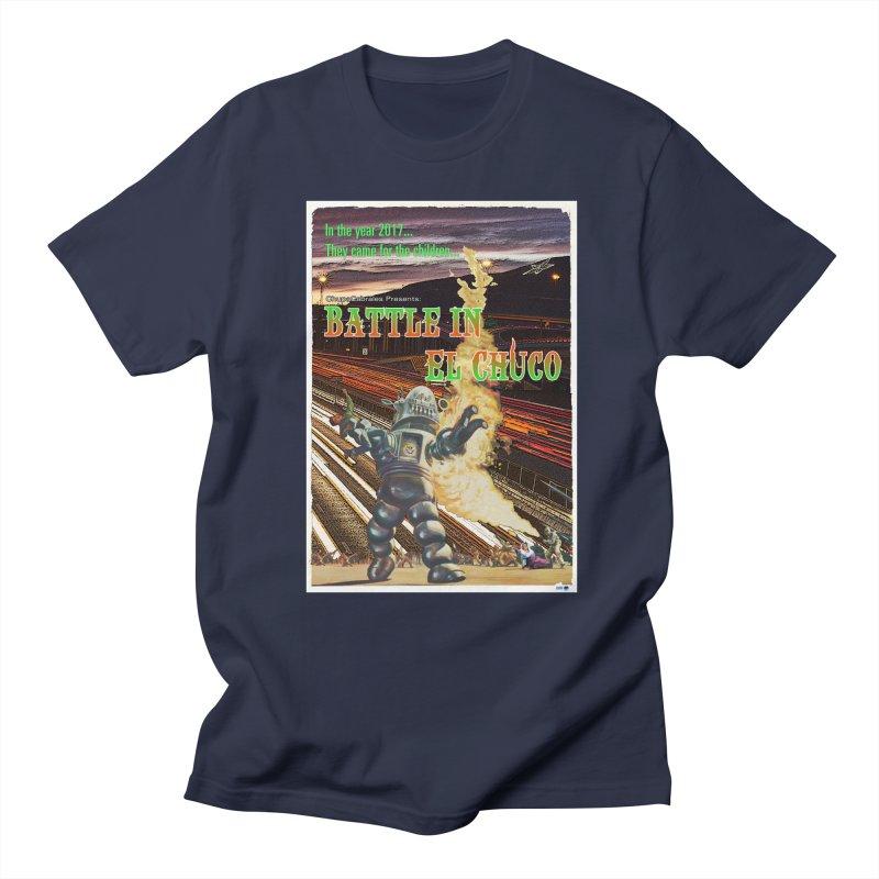 Battle in El Chuco by ChupaCabrales Men's Regular T-Shirt by ChupaCabrales's Shop