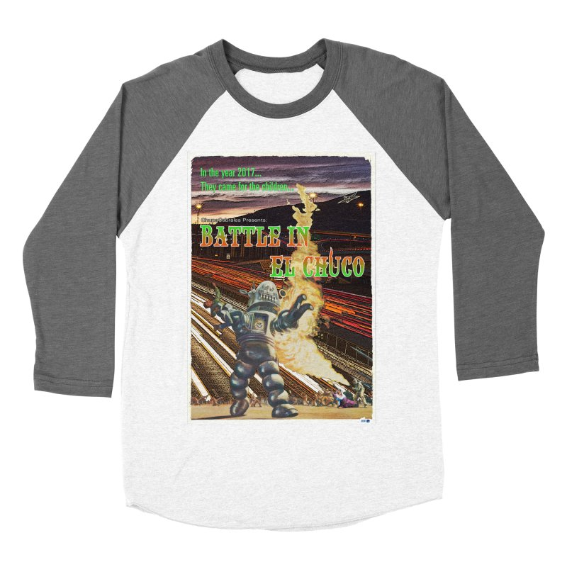 Battle in El Chuco by ChupaCabrales Women's Longsleeve T-Shirt by ChupaCabrales's Shop
