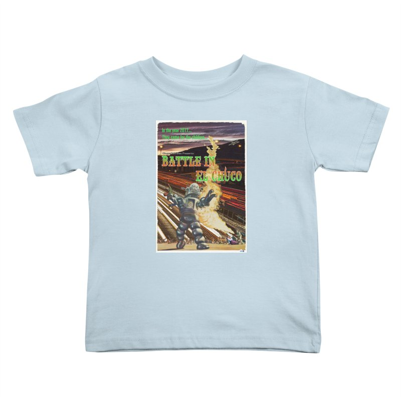 Battle in El Chuco by ChupaCabrales Kids Toddler T-Shirt by ChupaCabrales's Shop