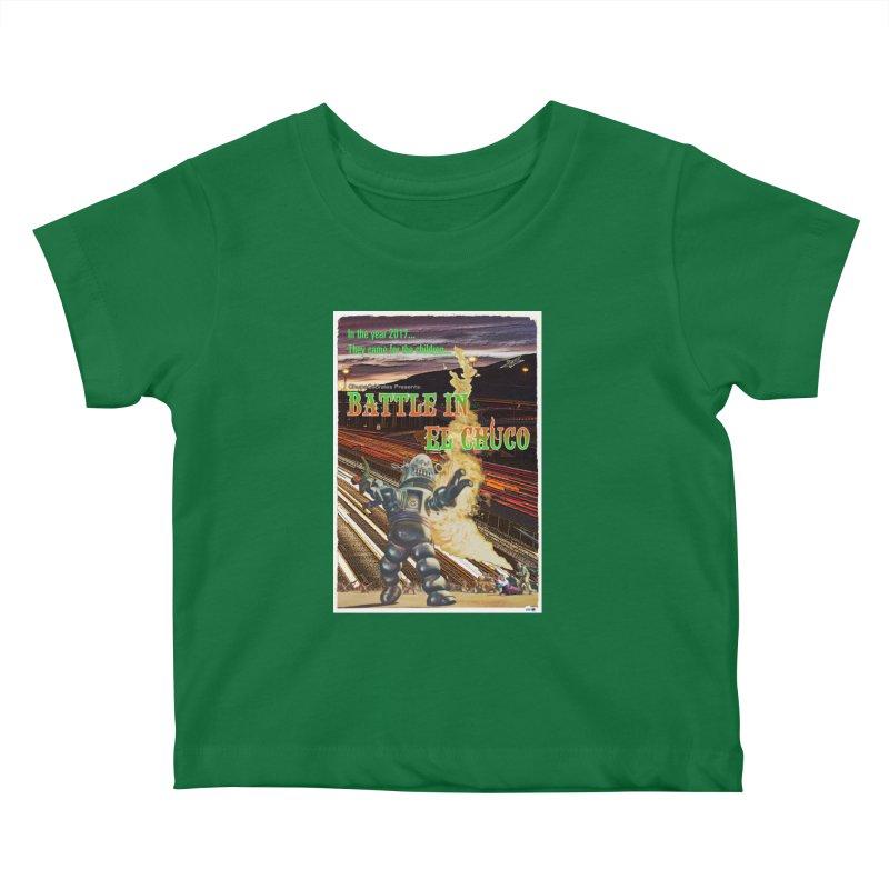 Battle in El Chuco by ChupaCabrales Kids Baby T-Shirt by ChupaCabrales's Shop