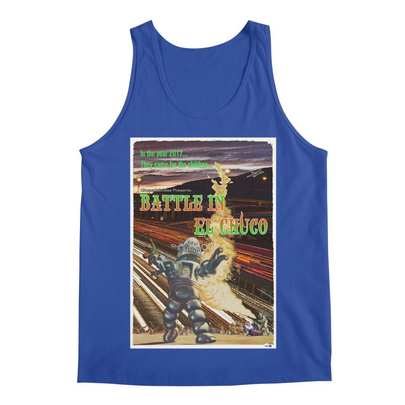 Battle in El Chuco by ChupaCabrales Men's Regular Tank by ChupaCabrales's Shop