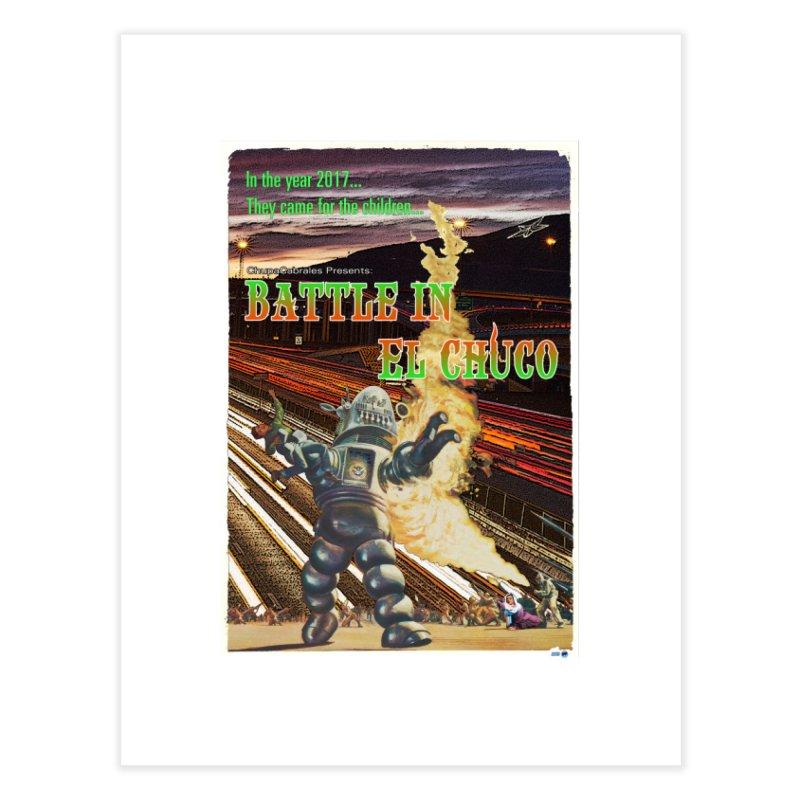 Battle in El Chuco by ChupaCabrales Home Fine Art Print by ChupaCabrales's Shop