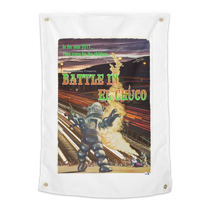 Battle in El Chuco by ChupaCabrales Home Tapestry by ChupaCabrales's Shop