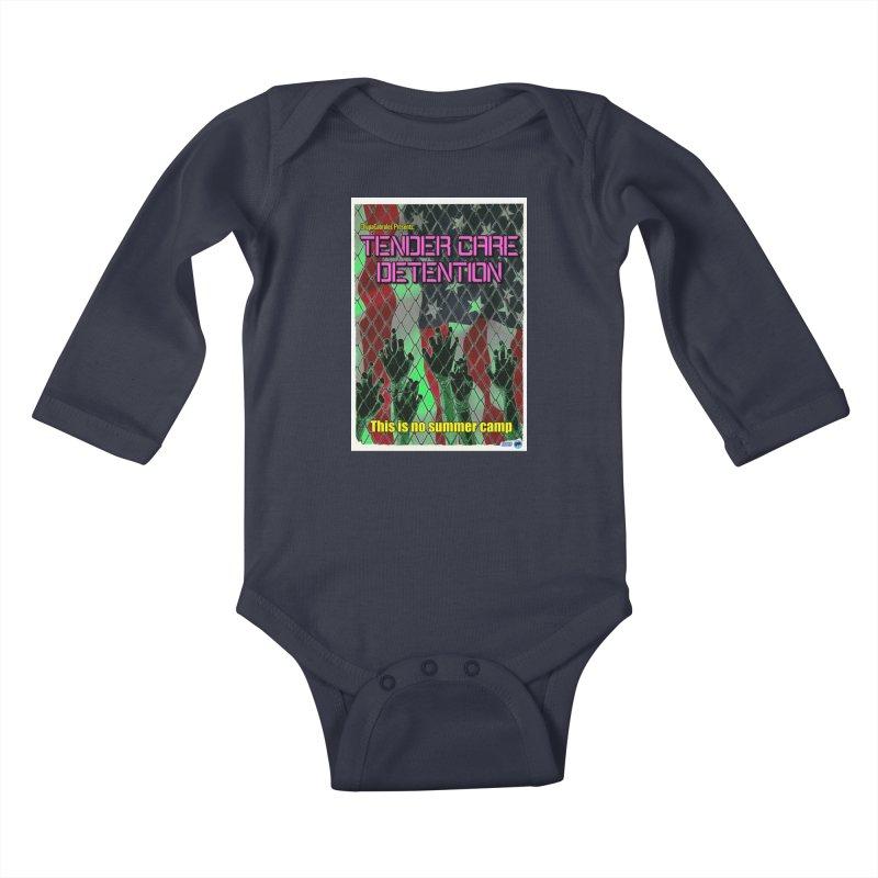 Tender Care Detention by ChupaCabrales Kids Baby Longsleeve Bodysuit by ChupaCabrales's Shop