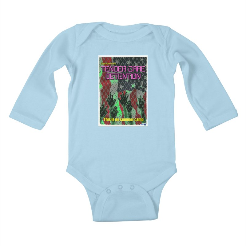 Tender Care Detention by ChupaCabrales Kids Baby Longsleeve Bodysuit by ChupaCabrales's Shop