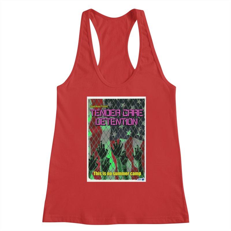 Tender Care Detention by ChupaCabrales Women's Racerback Tank by ChupaCabrales's Shop