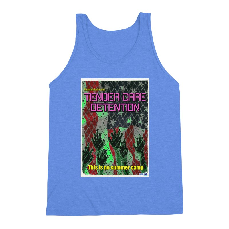 Tender Care Detention by ChupaCabrales Men's Triblend Tank by ChupaCabrales's Shop