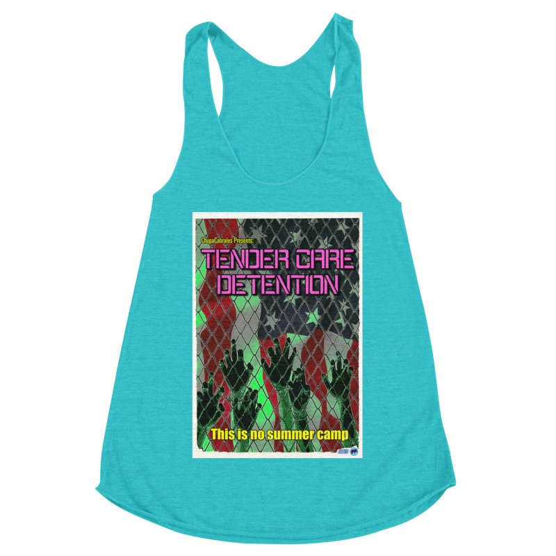 Tender Care Detention by ChupaCabrales Women's Racerback Triblend Tank by ChupaCabrales's Shop