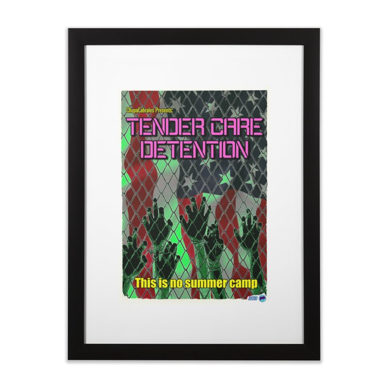Tender Care Detention by ChupaCabrales Home Framed Fine Art Print by ChupaCabrales's Shop