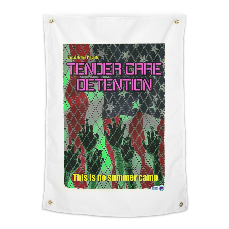 Tender Care Detention by ChupaCabrales Home Tapestry by ChupaCabrales's Shop