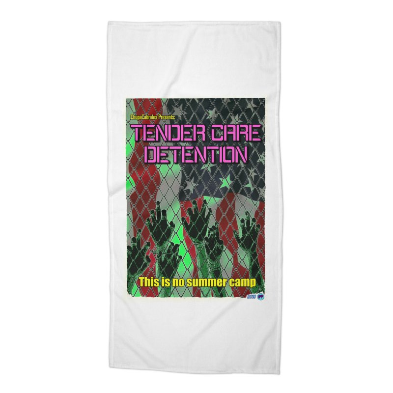 Tender Care Detention by ChupaCabrales Accessories Beach Towel by ChupaCabrales's Shop