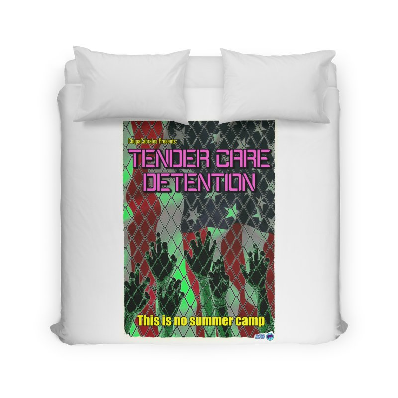 Tender Care Detention by ChupaCabrales Home Duvet by ChupaCabrales's Shop