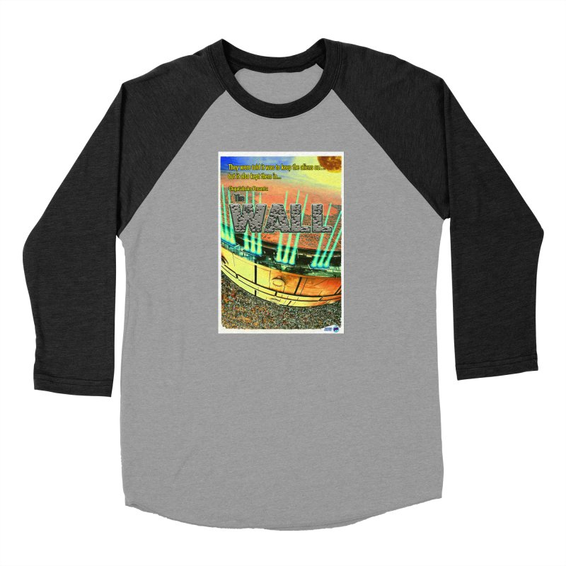 The Wall by ChupaCabrales Men's Baseball Triblend Longsleeve T-Shirt by ChupaCabrales's Shop