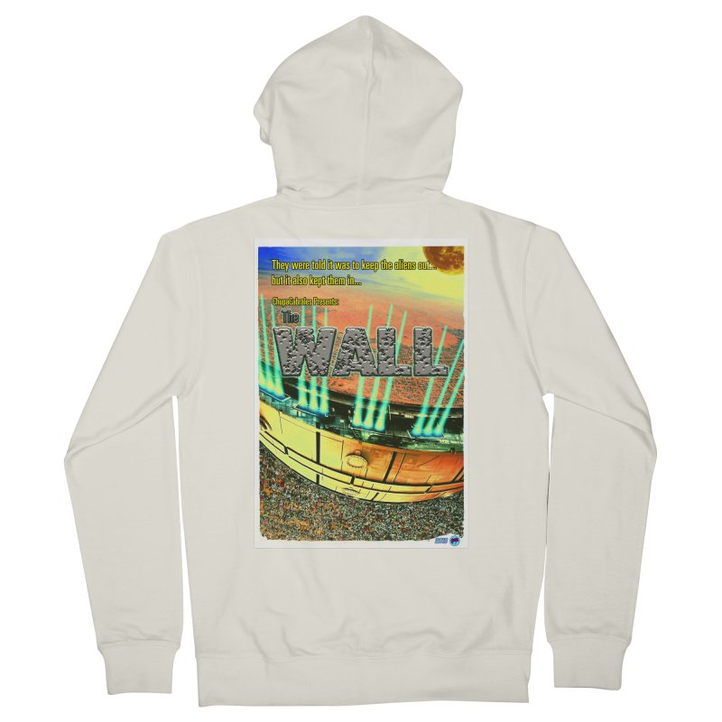 The Wall by ChupaCabrales Women's French Terry Zip-Up Hoody by ChupaCabrales's Shop