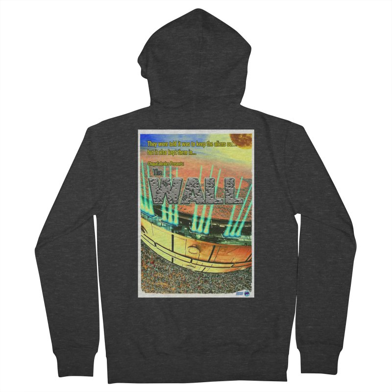 The Wall by ChupaCabrales Men's French Terry Zip-Up Hoody by ChupaCabrales's Shop