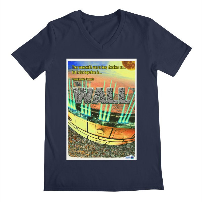 The Wall by ChupaCabrales Men's Regular V-Neck by ChupaCabrales's Shop
