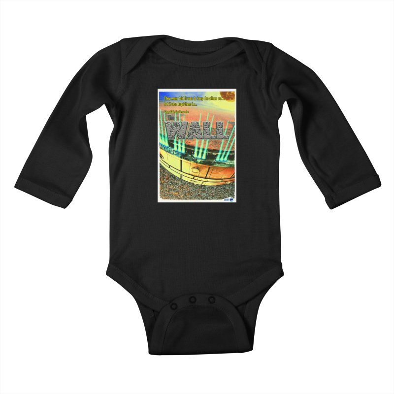 The Wall by ChupaCabrales Kids Baby Longsleeve Bodysuit by ChupaCabrales's Shop