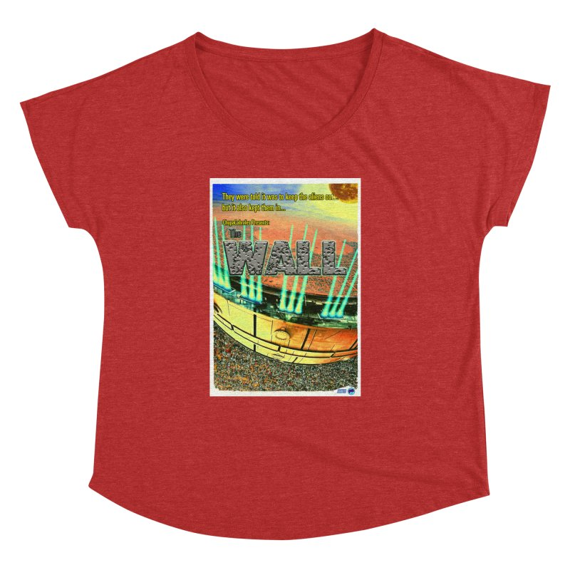 The Wall by ChupaCabrales Women's Dolman Scoop Neck by ChupaCabrales's Shop
