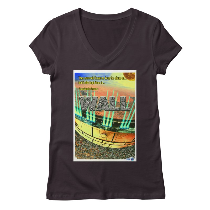 The Wall by ChupaCabrales Women's Regular V-Neck by ChupaCabrales's Shop