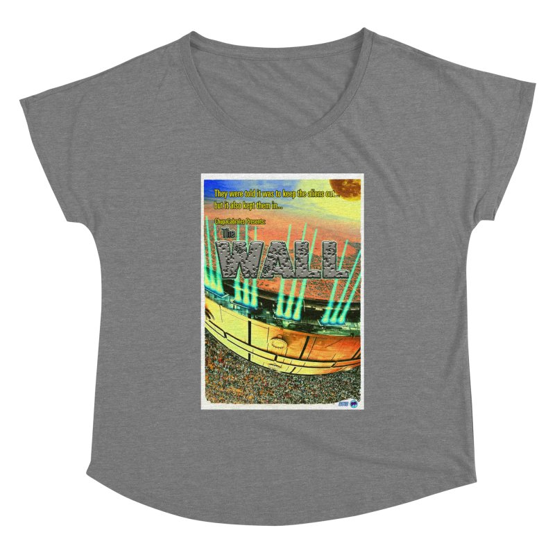 The Wall by ChupaCabrales Women's Scoop Neck by ChupaCabrales's Shop