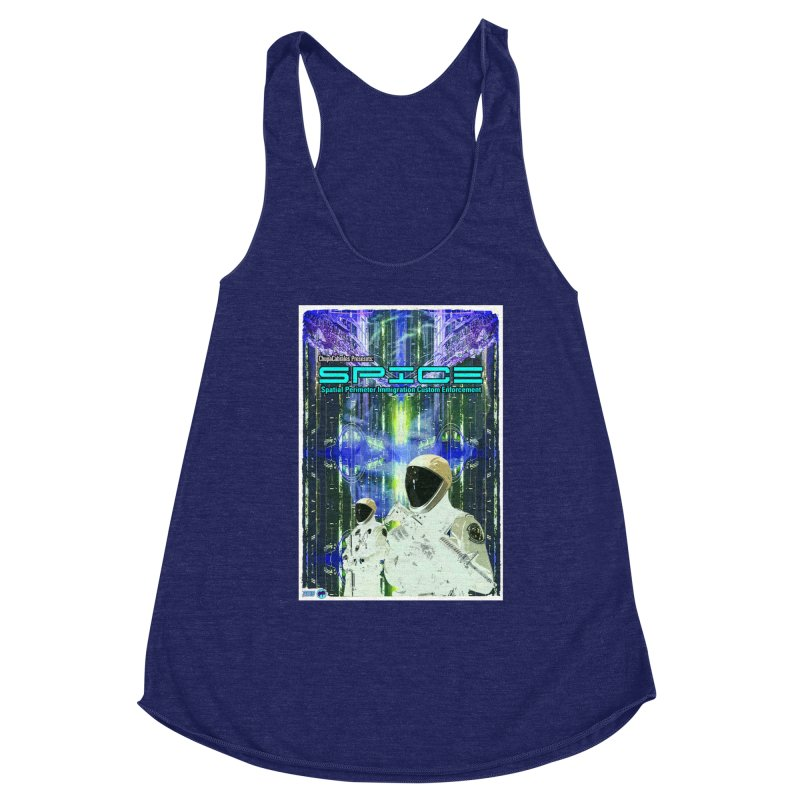 SPICE by ChupaCabrales Women's Racerback Triblend Tank by ChupaCabrales's Shop