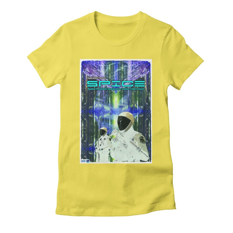 SPICE by ChupaCabrales Women's Fitted T-Shirt by ChupaCabrales's Shop