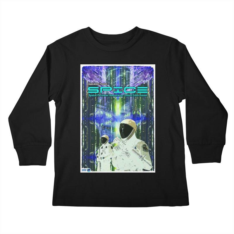 SPICE by ChupaCabrales Kids Longsleeve T-Shirt by ChupaCabrales's Shop