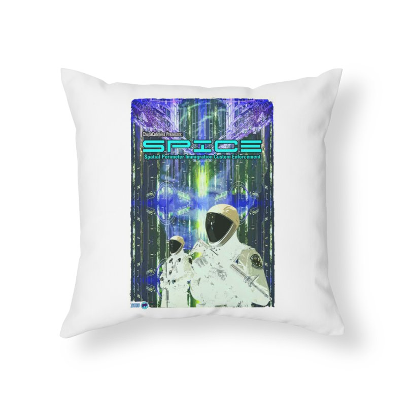 SPICE by ChupaCabrales Home Throw Pillow by ChupaCabrales's Shop