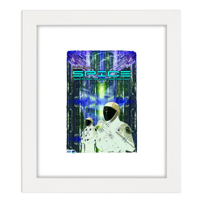 SPICE by ChupaCabrales Home Framed Fine Art Print by ChupaCabrales's Shop